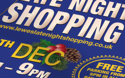 Lewes Late Night Shopping 2018