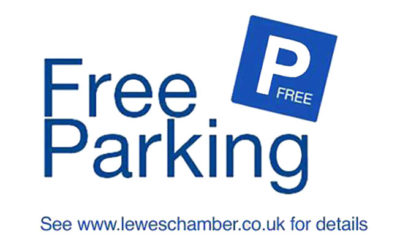 A bit of Christmas cheer – selected free parking in Lewes